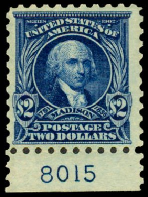 Costs of US Stamps Scott # 479 - 1917 US$2.00 Madison Perf 10. Daniel Kelleher Auctions, May 2015, Sale 669, Lot 3070