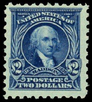 Value of US Stamps Scott Cat. #479 - US$2.00 1917 Madison Perf 10. Daniel Kelleher Auctions, Jan 2015, Sale 663, Lot 1831