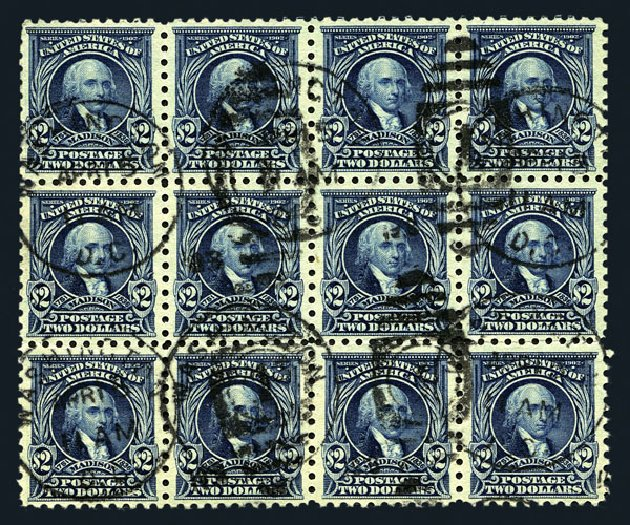 Costs of US Stamp Scott Catalogue # 479 - 1917 US$2.00 Madison Perf 10. Harmer-Schau Auction Galleries, Aug 2015, Sale 106, Lot 1844