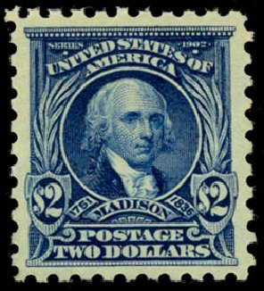 US Stamps Value Scott Catalogue #479: US$2.00 1917 Madison Perf 10. Daniel Kelleher Auctions, May 2014, Sale 653, Lot 2234