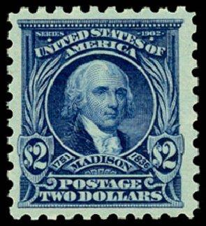 US Stamp Value Scott Cat. #479 - US$2.00 1917 Madison Perf 10. Daniel Kelleher Auctions, Sep 2014, Sale 655, Lot 524