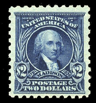 US Stamp Prices Scott Catalogue 479: 1917 US$2.00 Madison Perf 10. Cherrystone Auctions, Mar 2015, Sale 201503, Lot 55