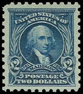 Prices of US Stamps Scott Cat. 479: US$2.00 1917 Madison Perf 10. H.R. Harmer, Oct 2014, Sale 3006, Lot 1375
