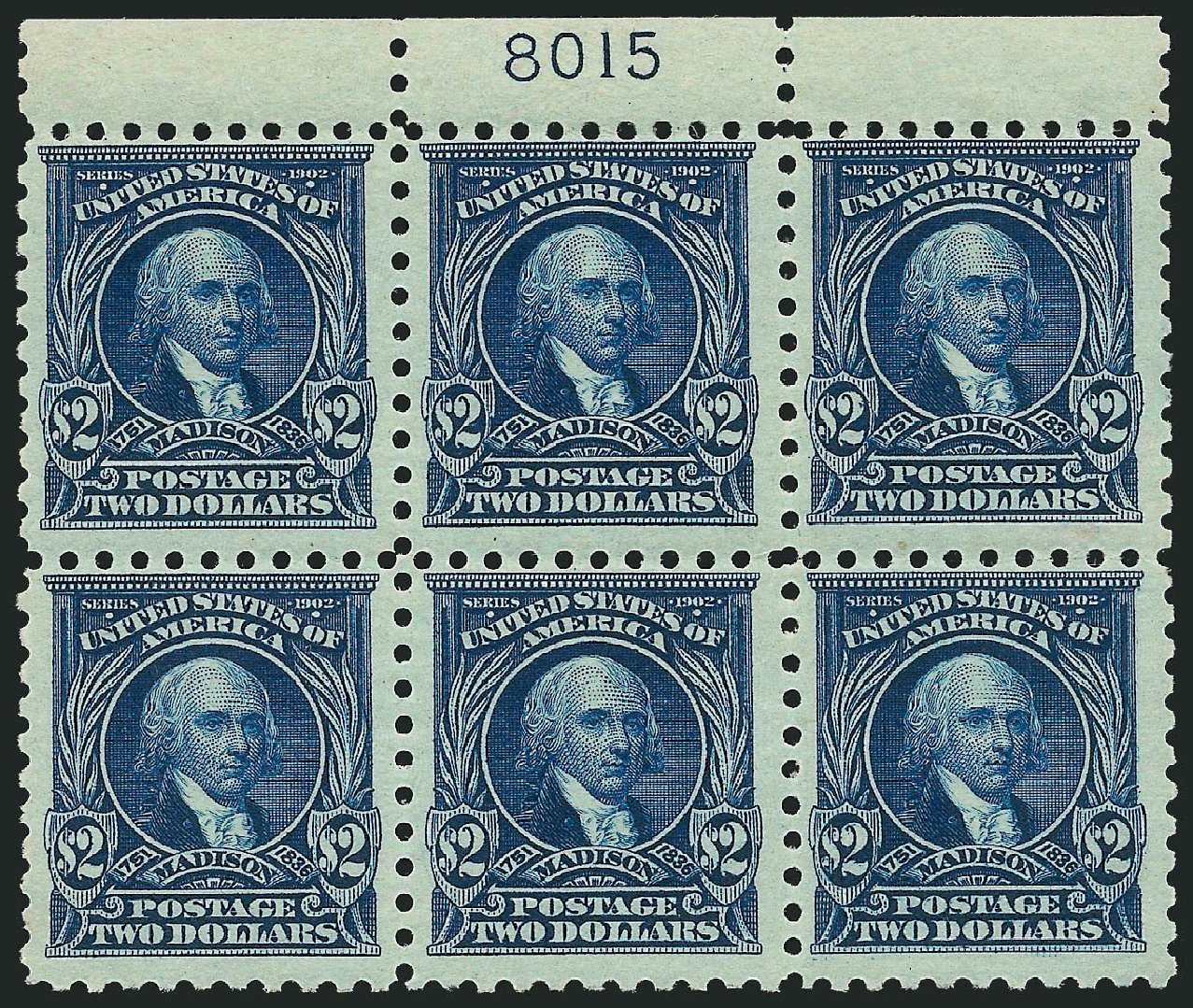 Cost of US Stamps Scott Catalogue # 479 - 1917 US$2.00 Madison Perf 10. Robert Siegel Auction Galleries, Sep 2014, Sale 1078, Lot 552