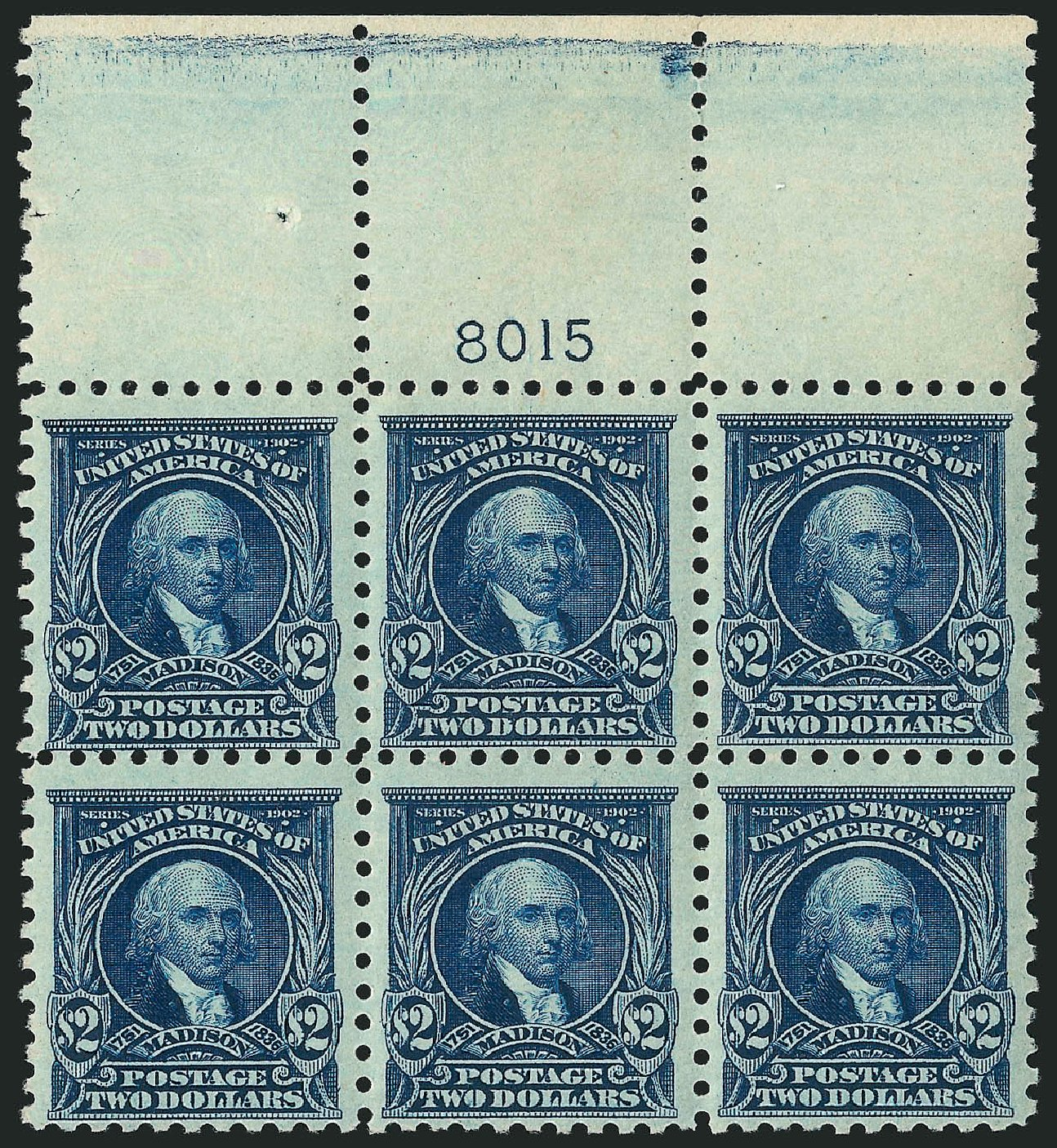 Costs of US Stamps Scott Catalogue # 479 - US$2.00 1917 Madison Perf 10. Robert Siegel Auction Galleries, Apr 2015, Sale 1096, Lot 732