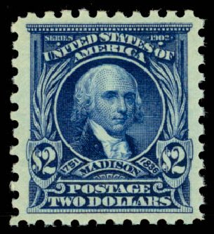 US Stamps Price Scott Cat. 479: US$2.00 1917 Madison Perf 10. Daniel Kelleher Auctions, Jan 2015, Sale 663, Lot 1833