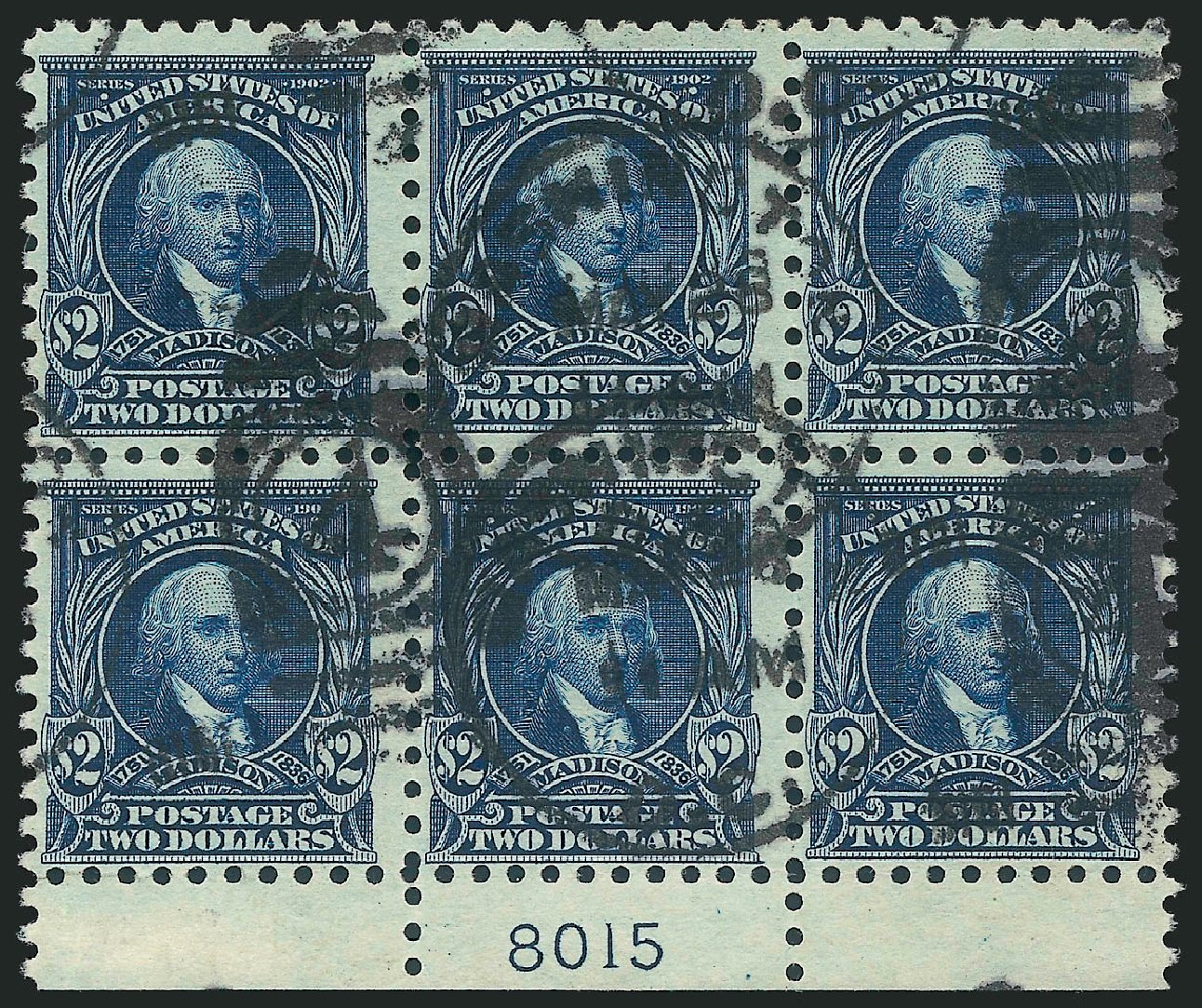 US Stamp Value Scott Catalogue #479: 1917 US$2.00 Madison Perf 10. Robert Siegel Auction Galleries, Feb 2015, Sale 1093, Lot 413