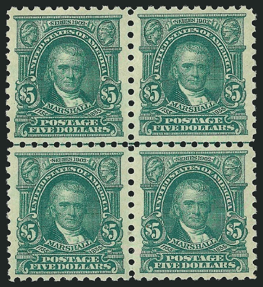 Costs of US Stamps Scott 480 - US$5.00 1917 Marshall Perf 10. Robert Siegel Auction Galleries, Apr 2015, Sale 1096, Lot 733