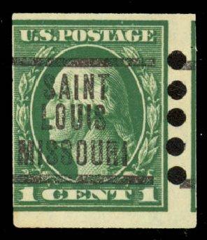 Cost of US Stamps Scott Catalogue # 481: 1916 1c Washington Imperf. Daniel Kelleher Auctions, Sep 2014, Sale 655, Lot 527