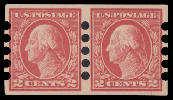 US Stamps Prices Scott Catalog 482 - 2c 1916 Washington Imperf. Daniel Kelleher Auctions, Aug 2015, Sale 672, Lot 2759