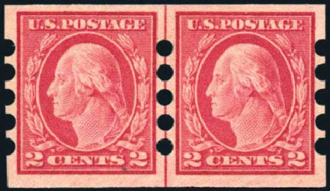 Price of US Stamps Scott #482 - 2c 1916 Washington Imperf. Harmer-Schau Auction Galleries, Feb 2010, Sale 84, Lot 1860