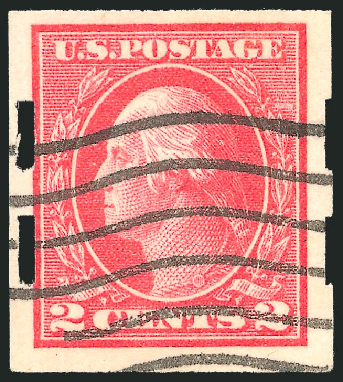 Values of US Stamp Scott #482A: 1916 2c Washington Imperf. Robert Siegel Auction Galleries, Jun 2012, Sale 1025, Lot 227