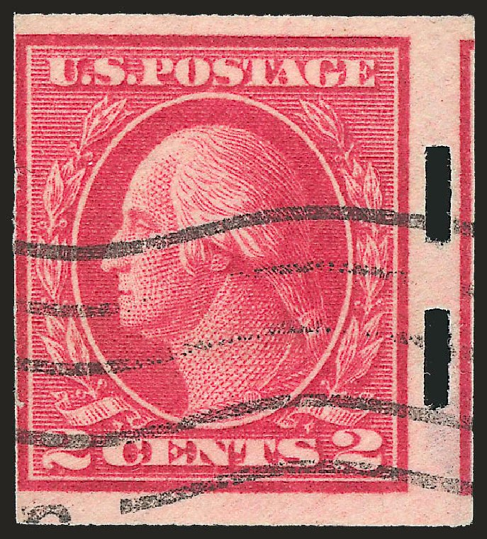 Price of US Stamps Scott 482A - 1916 2c Washington Imperf. Robert Siegel Auction Galleries, Apr 2009, Sale 972, Lot 3357