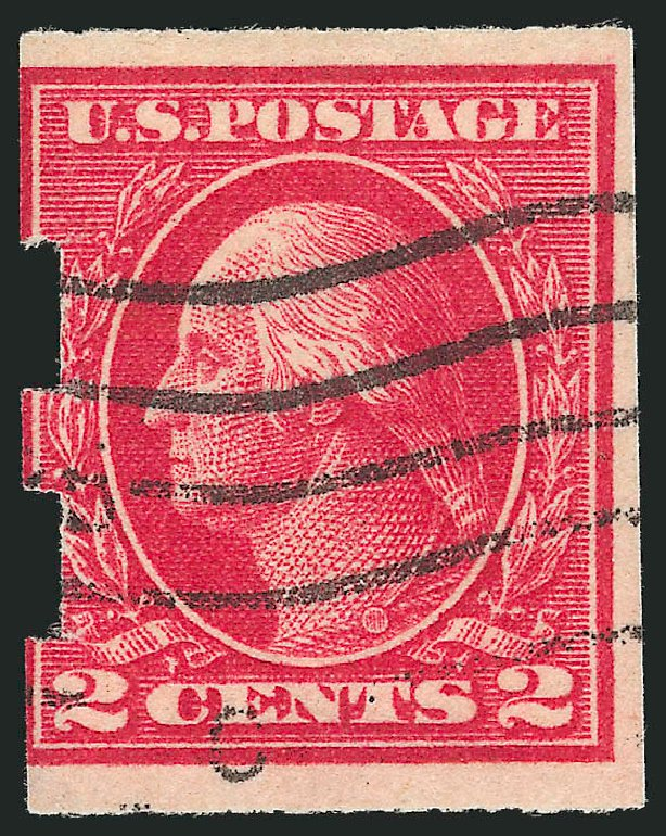 Costs of US Stamp Scott # 482A - 1916 2c Washington Imperf. Robert Siegel Auction Galleries, Feb 2015, Sale 1093, Lot 420