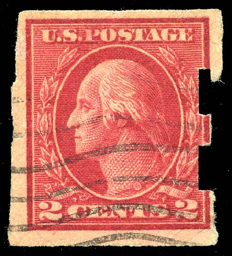 Cost of US Stamp Scott Cat. # 482A - 1916 2c Washington Imperf. Matthew Bennett International, Feb 2015, Sale 351, Lot 196