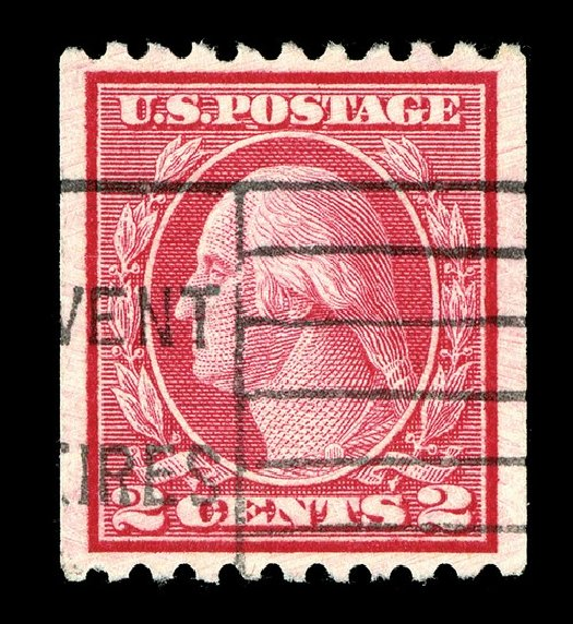 Prices of US Stamp Scott Catalogue # 487 - 2c 1916 Washington Coil Perf 10 Horizontally. Spink Shreves Galleries, May 2014, Sale 148, Lot 326