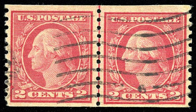Prices of US Stamps Scott Catalogue #491: 2c 1917 Washington Coil Perf 10 Vertically. Matthew Bennett International, Feb 2015, Sale 351, Lot 197