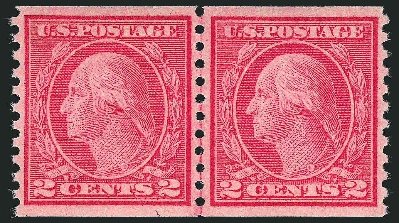 Price of US Stamp Scott Catalogue # 492: 1917 2c Washington Coil Perf 10 Vertically. Robert Siegel Auction Galleries, Sep 2009, Sale 968B, Lot 639