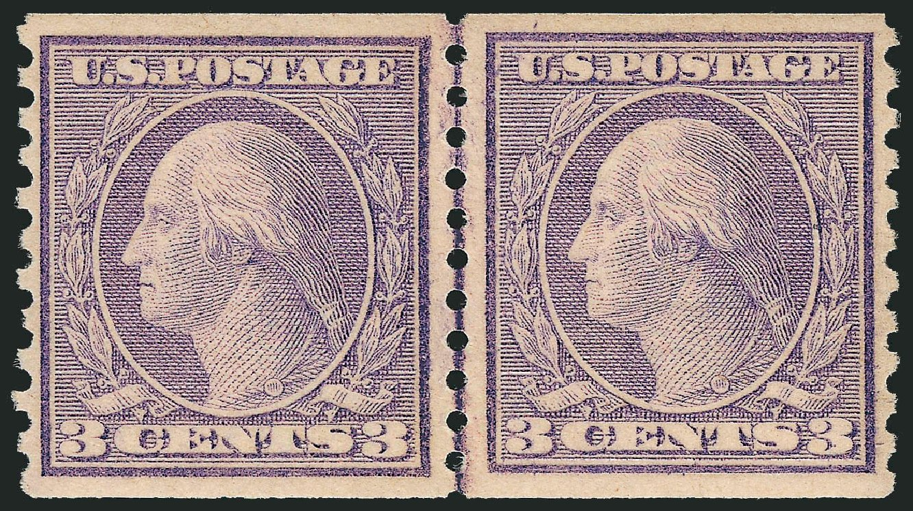 Costs of US Stamps Scott Catalogue # 494: 1917 3c Washington Coil Perf 10 Vertically. Robert Siegel Auction Galleries, Sep 2009, Sale 968B, Lot 642
