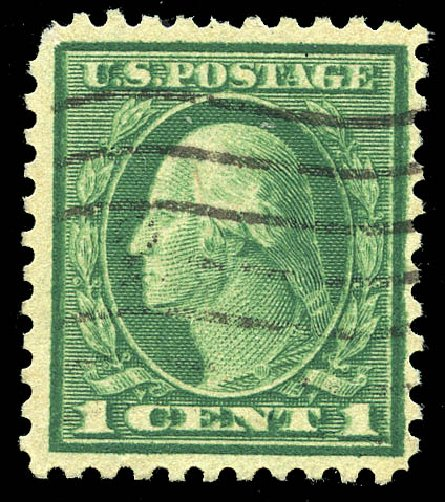 Costs of US Stamp Scott Catalog # 498 - 1917 1c Washington Perf 11. Matthew Bennett International, Feb 2015, Sale 351, Lot 198