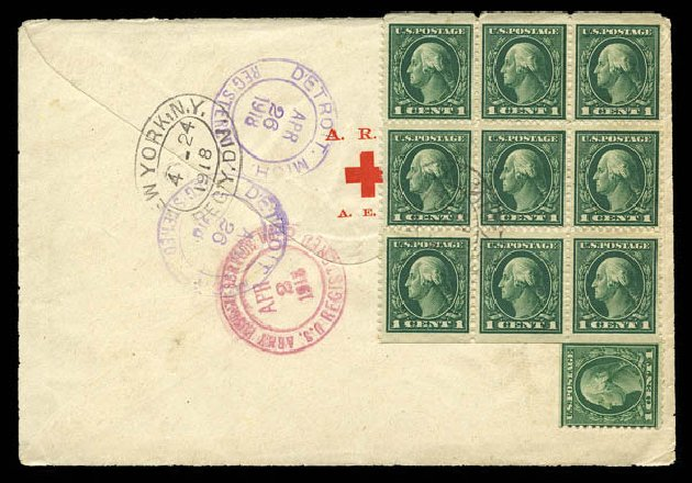 Cost of US Stamp Scott Catalogue 498: 1917 1c Washington Perf 11. Matthew Bennett International, Feb 2015, Sale 351, Lot 199