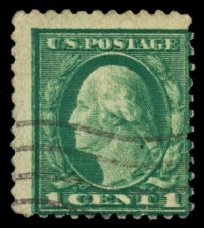 Value of US Stamp Scott Catalogue 498 - 1917 1c Washington Perf 11. Daniel Kelleher Auctions, May 2015, Sale 669, Lot 3090