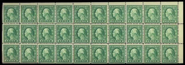 Prices of US Stamp Scott # 498 - 1c 1917 Washington Perf 11. Daniel Kelleher Auctions, May 2015, Sale 669, Lot 3091