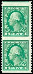 US Stamps Values Scott Cat. #498: 1917 1c Washington Perf 11. Schuyler J. Rumsey Philatelic Auctions, Apr 2015, Sale 60, Lot 2714