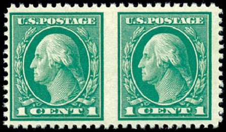 Value of US Stamp Scott # 498: 1917 1c Washington Perf 11. Schuyler J. Rumsey Philatelic Auctions, Apr 2015, Sale 60, Lot 2715
