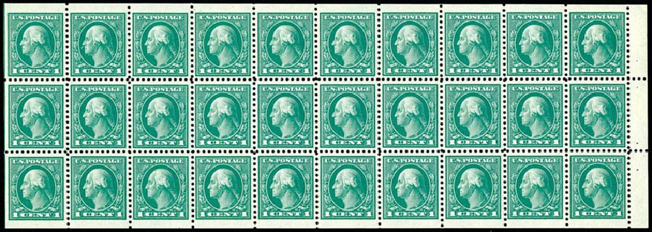 Prices of US Stamp Scott Cat. 498 - 1917 1c Washington Perf 11. Schuyler J. Rumsey Philatelic Auctions, Apr 2015, Sale 60, Lot 2716