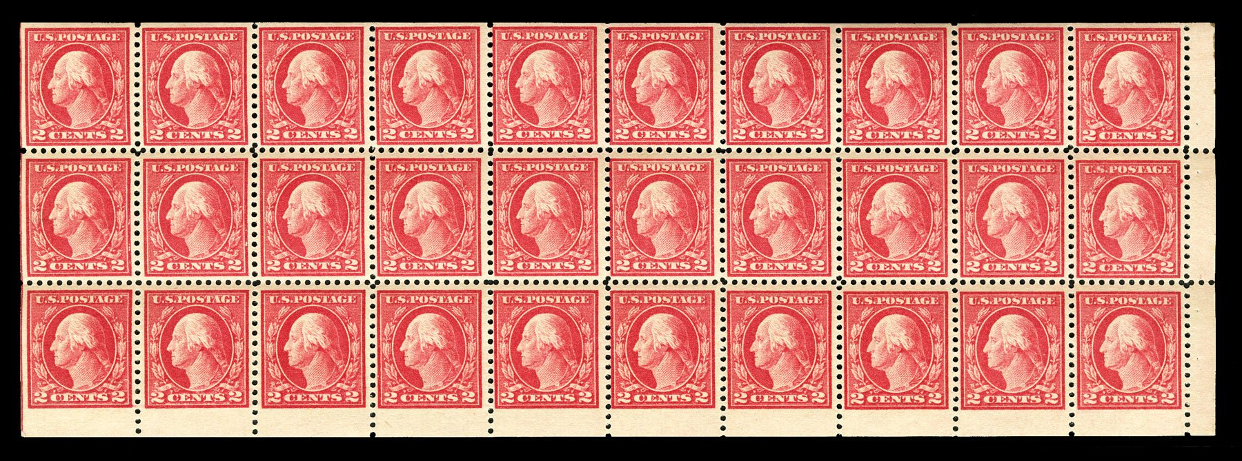 Cost of US Stamps Scott #499 - 2c 1917 Washington Perf 11. Cherrystone Auctions, Jul 2015, Sale 201507, Lot 2167