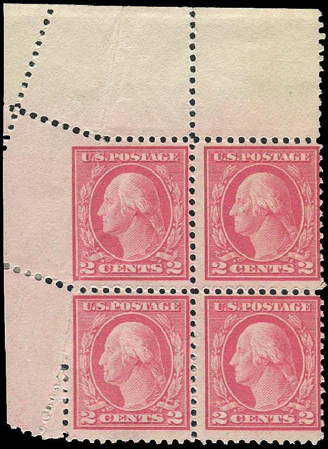 US Stamp Prices Scott Cat. # 499: 2c 1917 Washington Perf 11. Regency-Superior, Aug 2015, Sale 112, Lot 1547