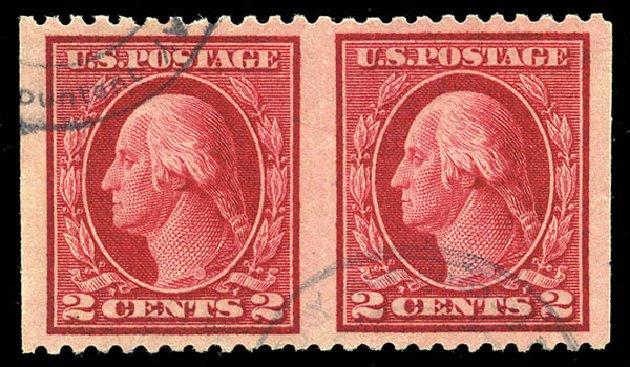 Value of US Stamp Scott # 499 - 2c 1917 Washington Perf 11. Matthew Bennett International, Feb 2015, Sale 351, Lot 201