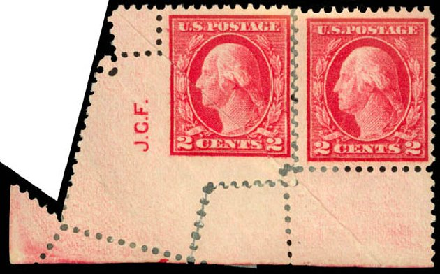 US Stamps Price Scott Cat. #499: 2c 1917 Washington Perf 11. Daniel Kelleher Auctions, Jan 2015, Sale 663, Lot 1844