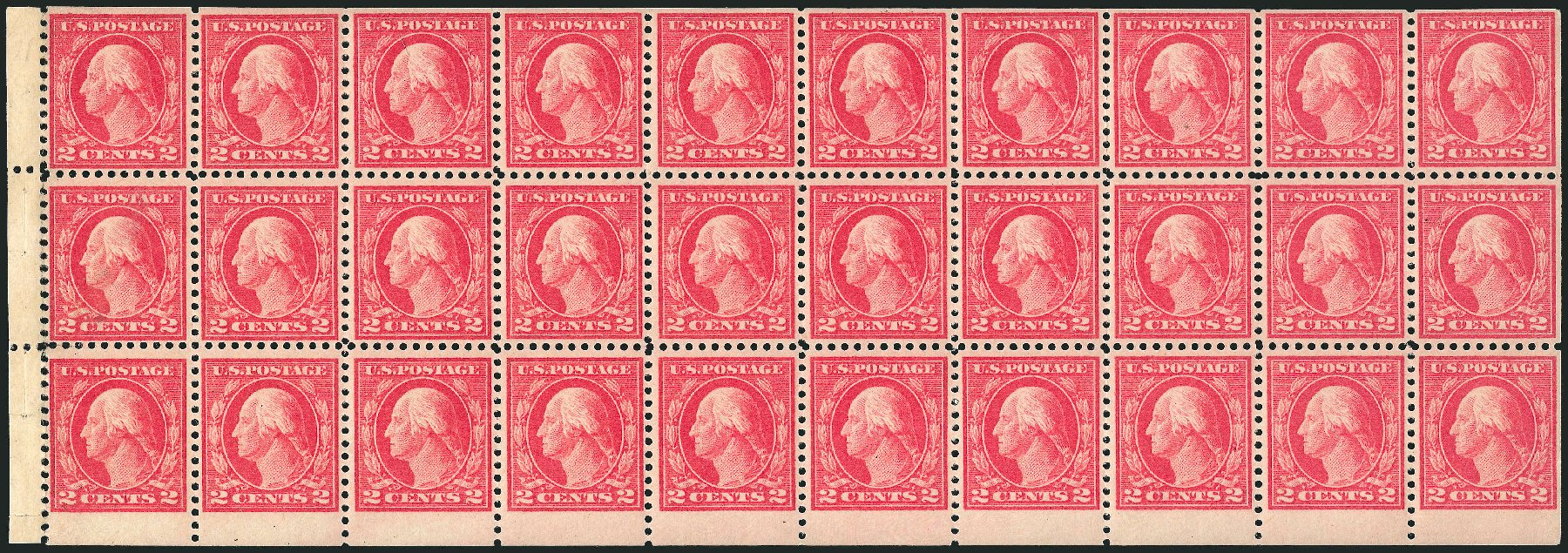 Prices of US Stamp Scott Catalog 499 - 1917 2c Washington Perf 11. Robert Siegel Auction Galleries, Apr 2015, Sale 1096, Lot 744