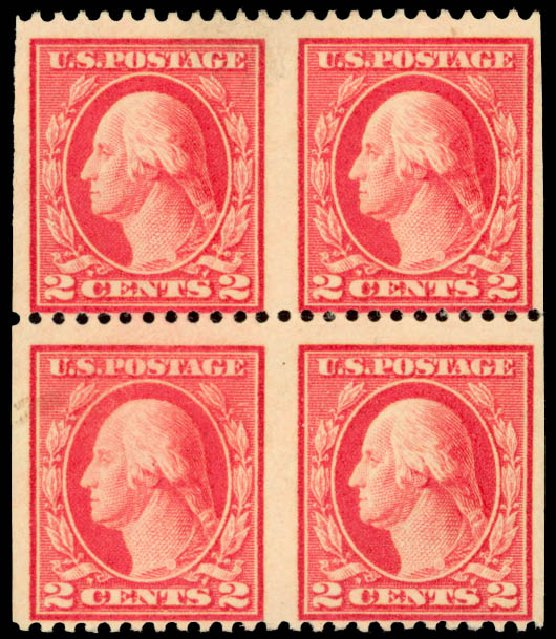 Prices of US Stamps Scott Cat. 499: 1917 2c Washington Perf 11. Daniel Kelleher Auctions, Jan 2015, Sale 663, Lot 1845