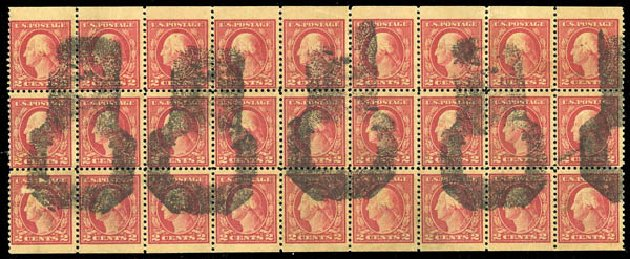 Costs of US Stamp Scott Catalogue #499 - 2c 1917 Washington Perf 11. Matthew Bennett International, Feb 2015, Sale 351, Lot 202