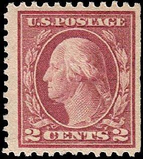 Price of US Stamp Scott #499 - 1917 2c Washington Perf 11. Regency-Superior, Jan 2015, Sale 109, Lot 1283