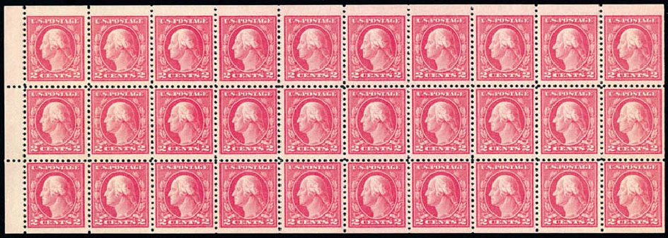 Value of US Stamps Scott Catalogue 499: 1917 2c Washington Perf 11. Schuyler J. Rumsey Philatelic Auctions, Apr 2015, Sale 60, Lot 2413