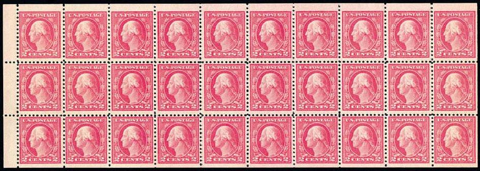 Value of US Stamps Scott Catalogue 499: 1917 2c Washington Perf 11. Schuyler J. Rumsey Philatelic Auctions, Apr 2015, Sale 60, Lot 2413