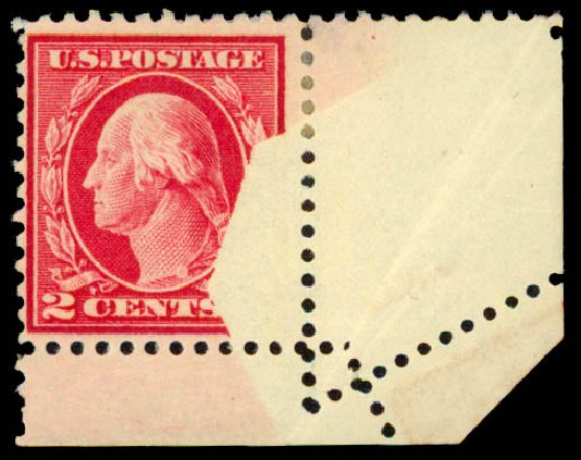 Values of US Stamp Scott Catalog # 499 - 2c 1917 Washington Perf 11. Daniel Kelleher Auctions, May 2015, Sale 669, Lot 3096
