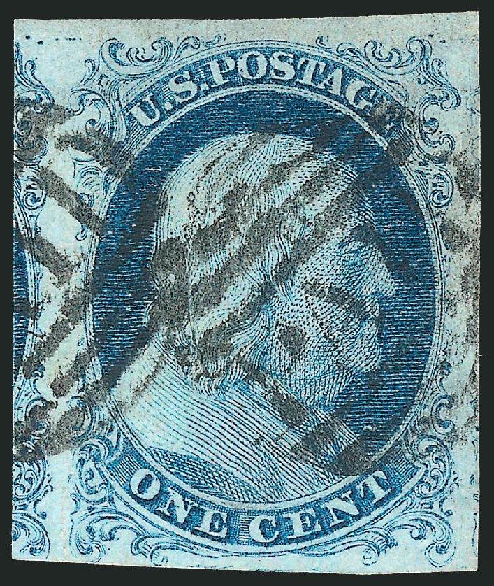 US Stamp Prices Scott # 5: 1c 1851 Franklin. Robert Siegel Auction Galleries, Dec 2013, Sale 1062, Lot 58