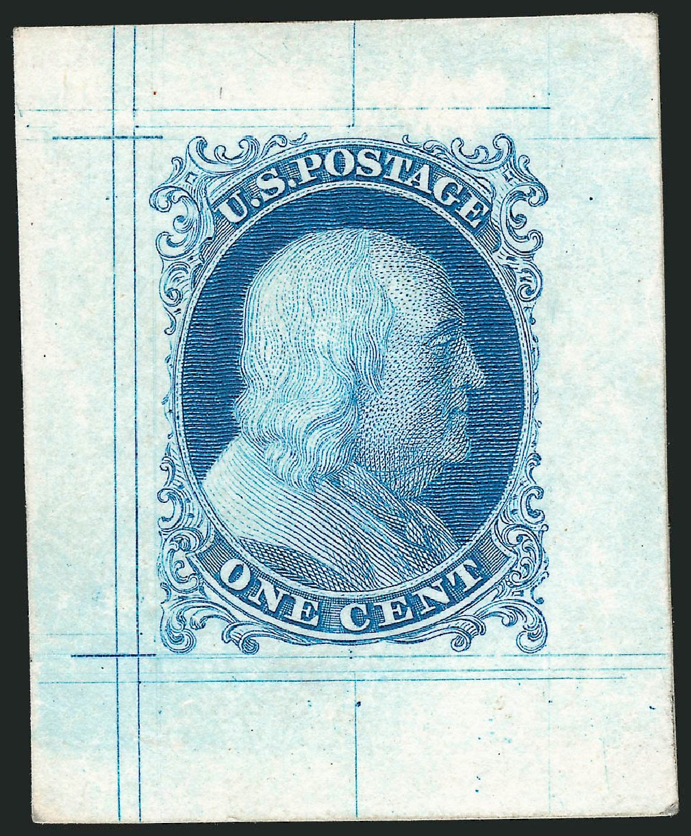 US Stamps Price Scott Catalog # 5: 1c 1851 Franklin. Robert Siegel Auction Galleries, Nov 2012, Sale 1034, Lot 30