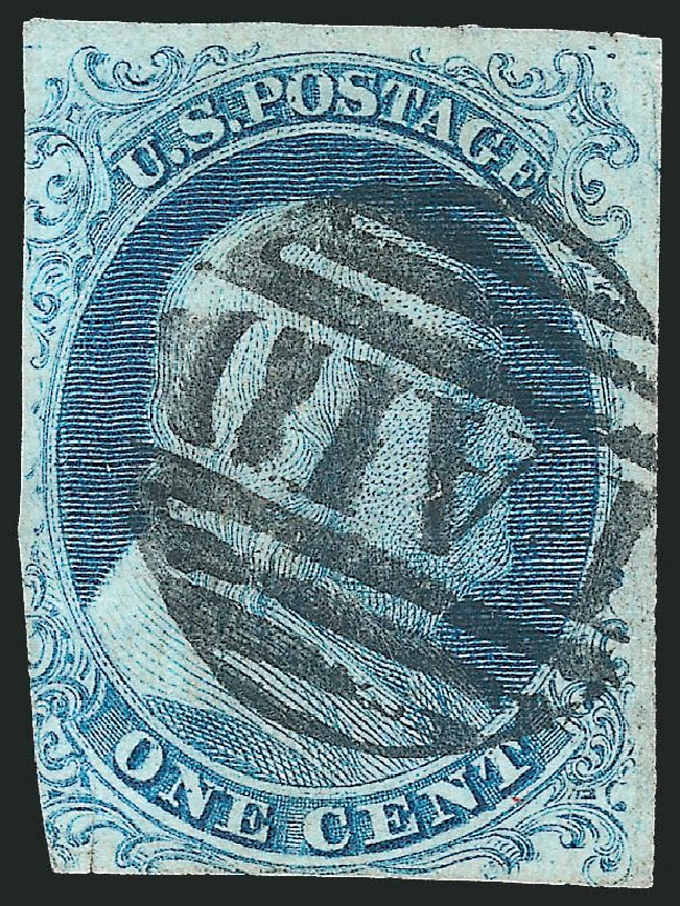 Values of US Stamps Scott Catalog # 5 - 1851 1c Franklin. Robert Siegel Auction Galleries, Mar 2013, Sale 1040, Lot 1180