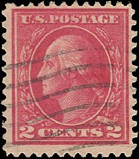 Cost of US Stamps Scott Catalog # 500 - 2c 1919 Washington Perf 11. Regency-Superior, Aug 2015, Sale 112, Lot 904