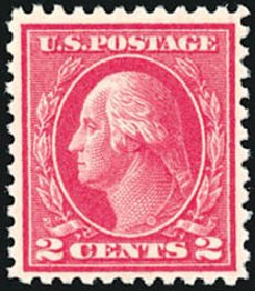 Costs of US Stamps Scott 500: 2c 1919 Washington Perf 11. Schuyler J. Rumsey Philatelic Auctions, Apr 2015, Sale 60, Lot 2415