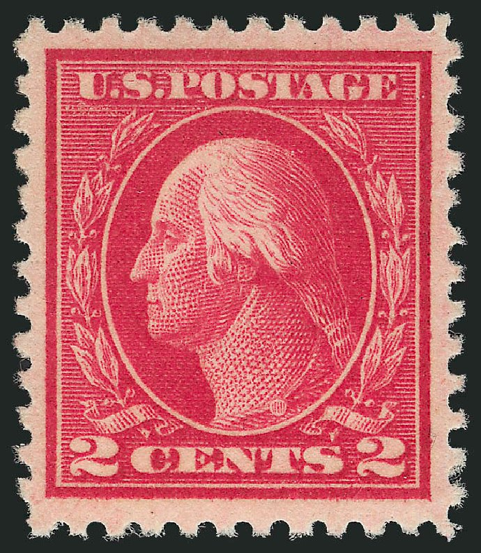 US Stamp Value Scott # 500 - 2c 1919 Washington Perf 11. Robert Siegel Auction Galleries, Apr 2015, Sale 1096, Lot 745