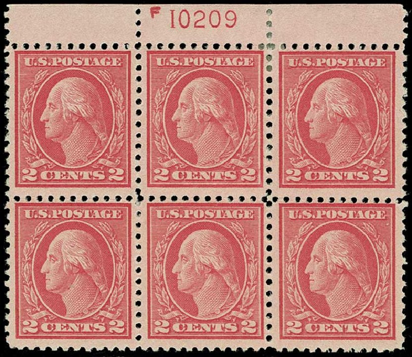 Cost of US Stamps Scott 500: 2c 1919 Washington Perf 11. H.R. Harmer, Jun 2015, Sale 3007, Lot 3343