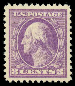 Costs of US Stamps Scott Cat. # 501 - 1917 3c Washington Perf 11. Daniel Kelleher Auctions, Sep 2013, Sale 639, Lot 3611