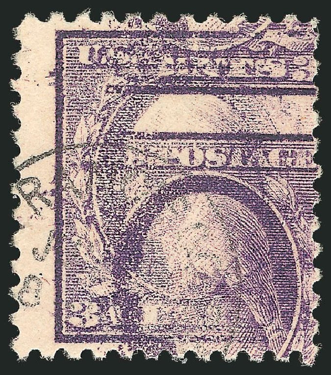 US Stamp Price Scott # 501: 1917 3c Washington Perf 11. Robert Siegel Auction Galleries, Sep 2012, Sale 1028, Lot 424